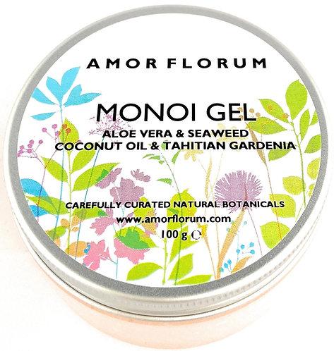 MONOI GEL - ALOE & SEAWEED with COCONUT OIL & TAHITIAN GARDENIA - 100g