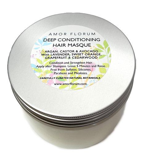 CONDITIONING HAIR MASQUE - CASTOR, ARGAN, AVOCADO 350 g