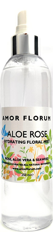 HYDRATING ALOE & FLOWER WATER SPRITZ - ALOE ROSE - 250ml