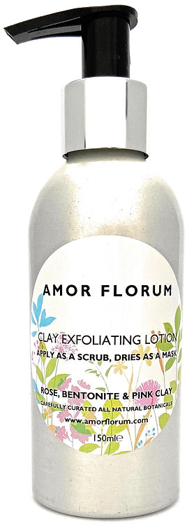 ROSE EXFOLIATING PINK CLAY TREATMENT - LOTION/MASK - 150 ml