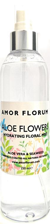 HYDRATING ALOE & FLOWER WATER MIST - ALOE FLOWERS - 250ml
