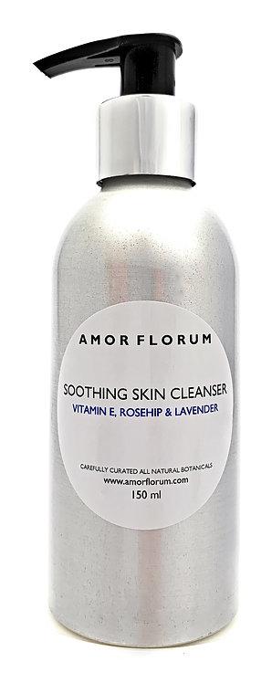 FACIAL CLEANSING LOTION - VITAMIN E, ROSEHIP & LAVENDER - 150 ml