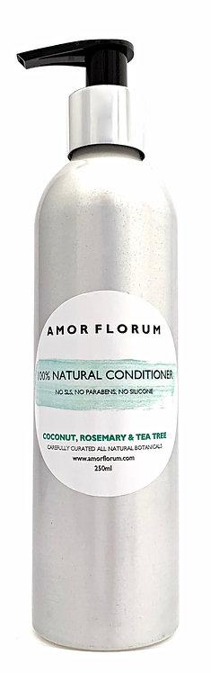 Natural HAIR CONDITIONER - ROSEMARY & TEA TREE - 250ml