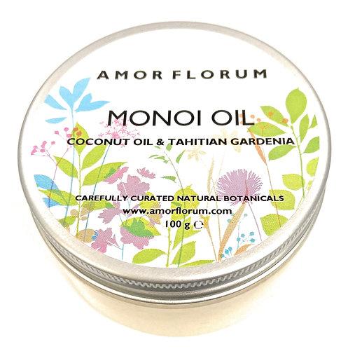 MONOI Oil with COCONUT OIL & TAHITIAN GARDENIA - 100g