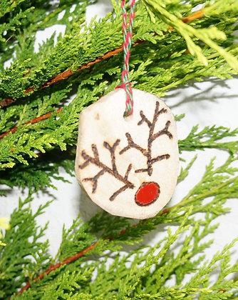 Driftwood Rudolph Christmas Tree Decoration