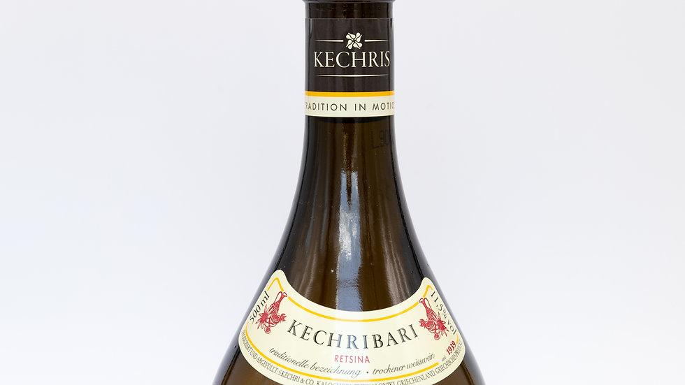 Kechribari Retsina 500ml 11,5%