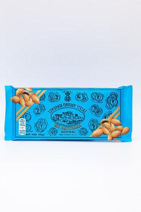 Pavlidis Dark Chocolate with Almonds 100gr