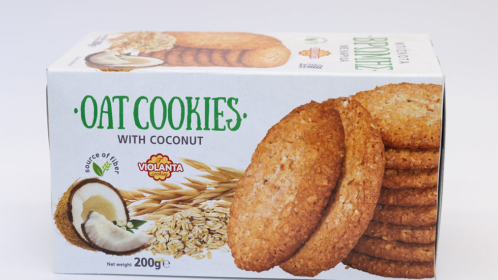 Oat cookies with 200g