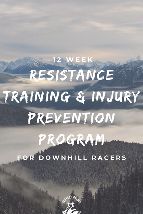 12 Week Downhill Resistance & Injury Prevention Program