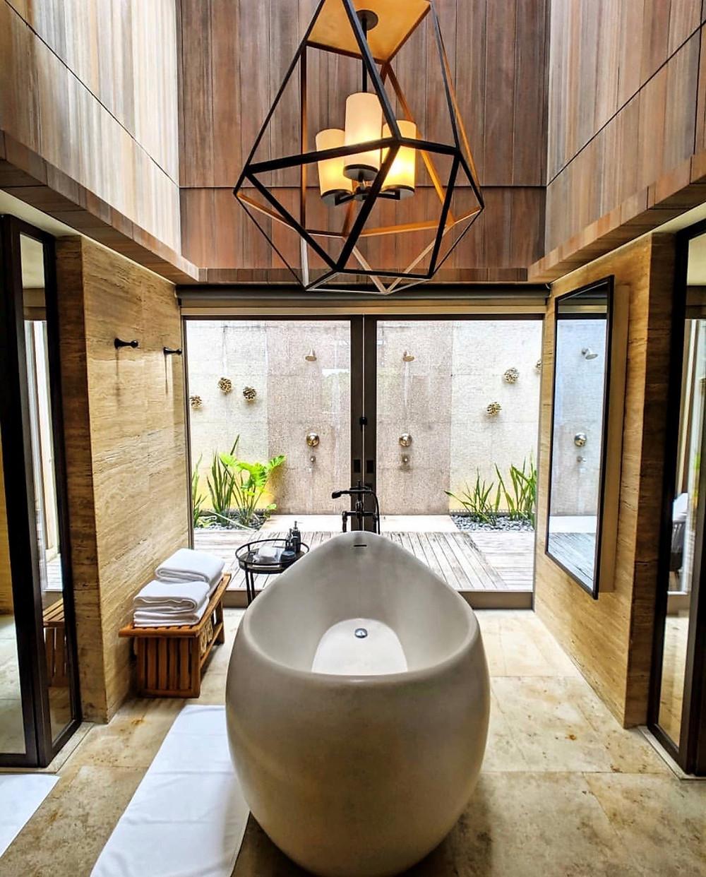 Garden Villa with Outdoor Shower