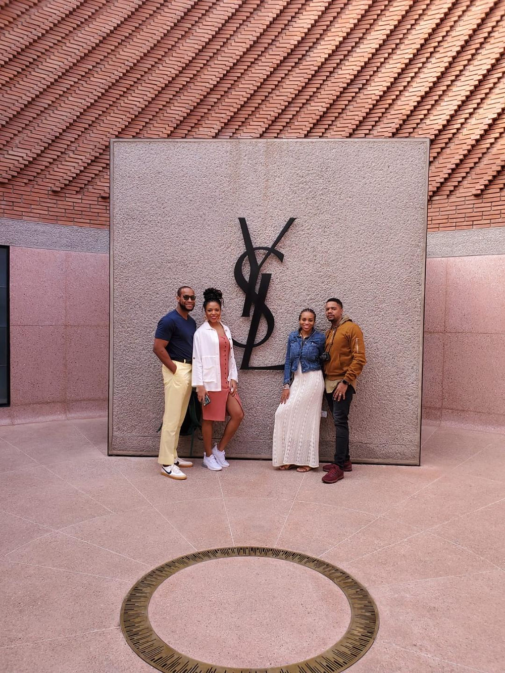 Yves Saint Laurant Museum- Marrakech, Morocco