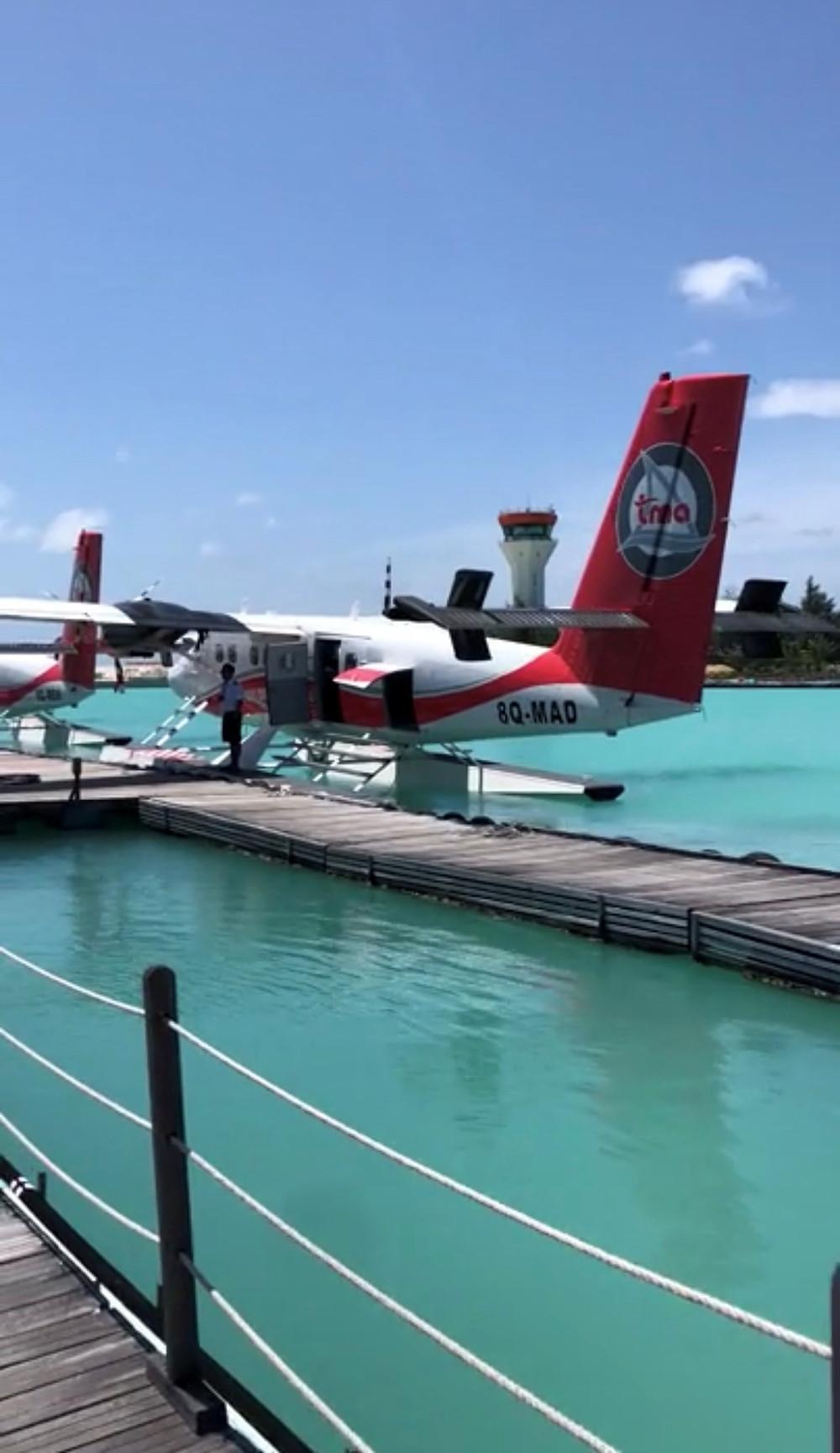 Seaplane Ready for Take-off