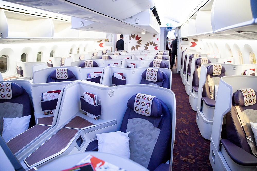 Royal Air Morac Business Class 787