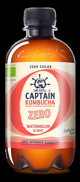 Kombucha zero watermelon mint Captain |400Ml