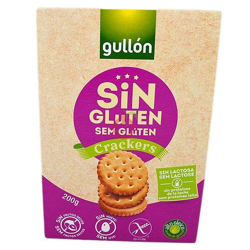 Bolachas Gullon Crackers S\Glúten  200gr