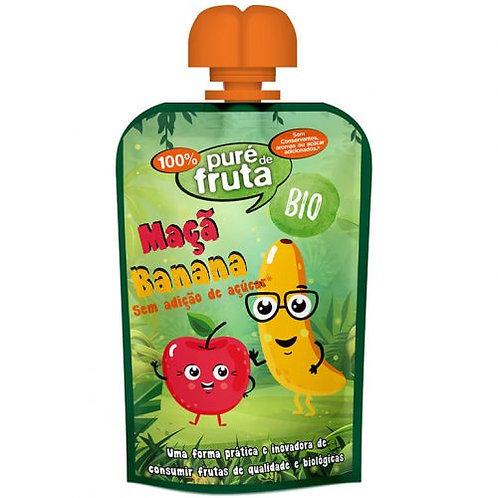 Puré de Fruta Bio Maça Banana |100gr