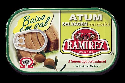 Atum em Azeite Baixo em sal Ramirez |125gr