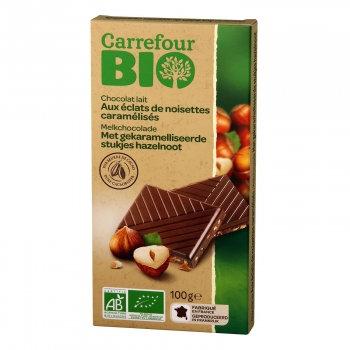 Chocolate Leite com avelãs caramelizadas |100gr