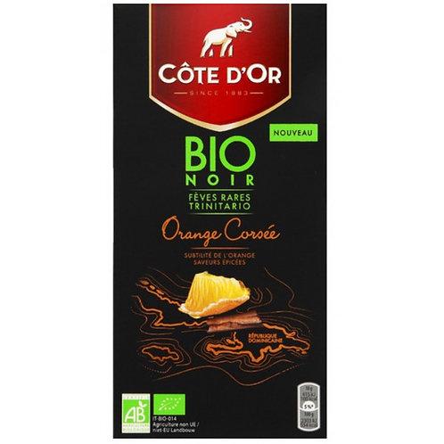 Chocolate Negro Côte D'Or Bio Laranja |100gr