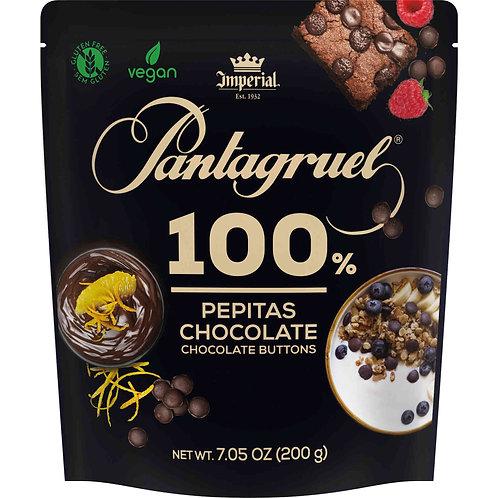 Chocolate Pantagruel Pepitas 100%Cacau  200gr