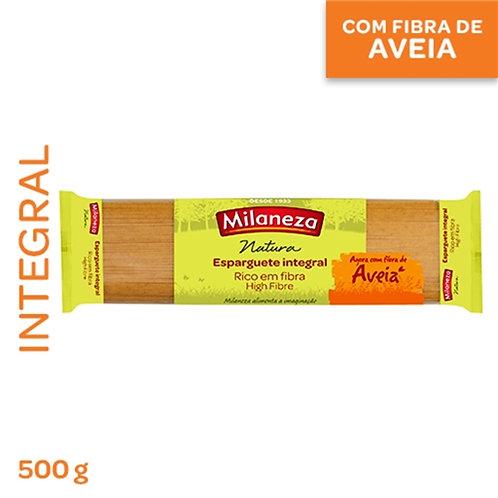 Massa Esparguete integral com aveia Milaneza |500gr