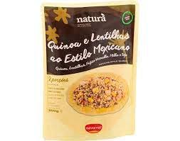 Refeição Quinoa e lentilhas |250gr