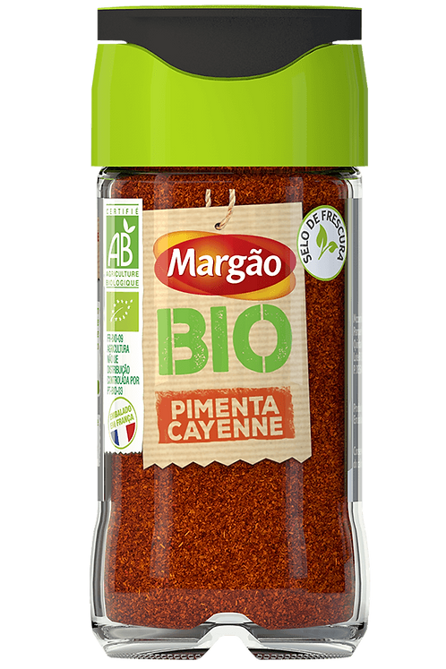 Pimenta Cayenne Margão Bio |32gr
