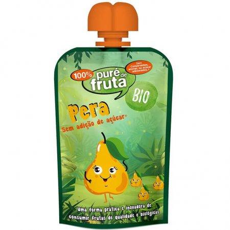 Puré de Fruta Bio Pêra  100gr