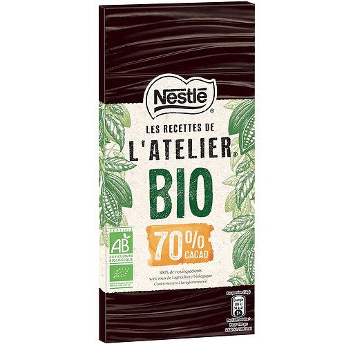 Chocolate Nestle L'Atelier 70% Cacau  80gr