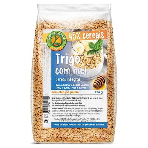 Cereais de trigo integral com Mel 100% |250gr