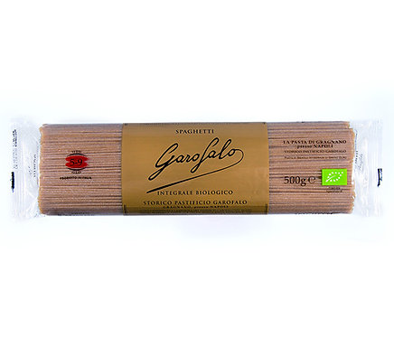 Massa Esparguete Integral Garofalo Bio  |0.5kg