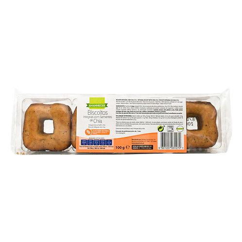 Biscoitos Integrais de Chia Amanhecer |100gr