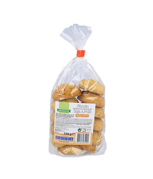 Biscoitos Integrais Amanhecer Soja E Limão  250gr