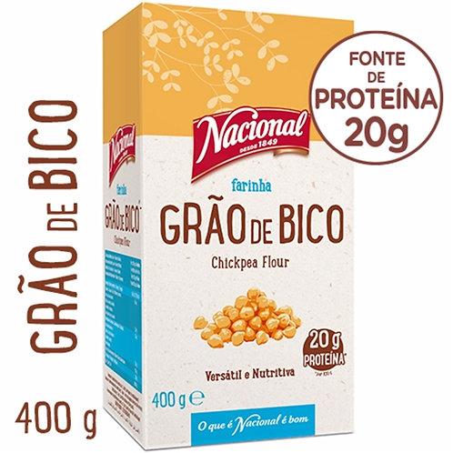 Farinha de Grão de Bico Nacional |400gr