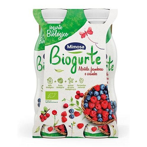 Iogurte Líquido Mirtilo Bio Mimosa emb. 4 x 156 ml