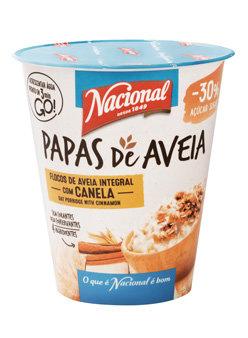 Papas de Aveia com Canela Nacional |55gr