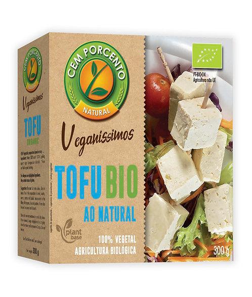 Tofu Bio ao Natural Cem Porcento |300gr