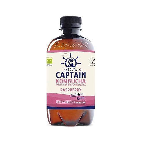 Kombucha Framboesa Captain Bio  |400ML