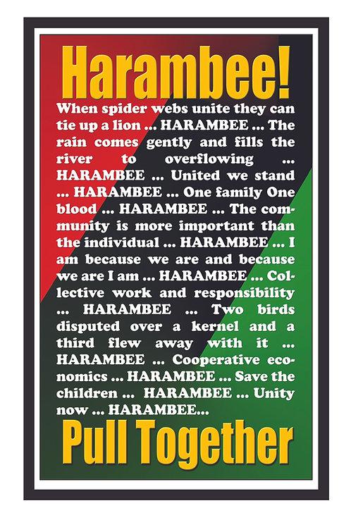 10 Cards - Harambee! Classic
