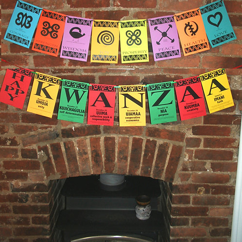 Happy Kwanzaa Banner
