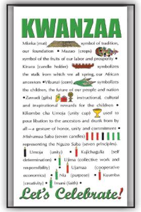 10 Cards - Kwanzaa Symbols classic.
