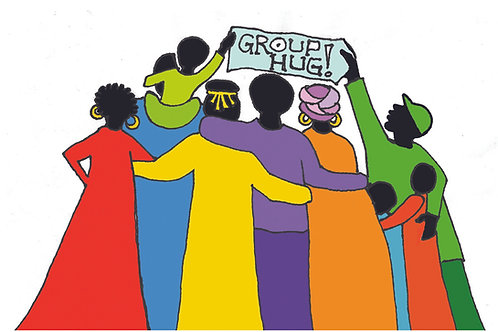 10 Cards - Group Hug!