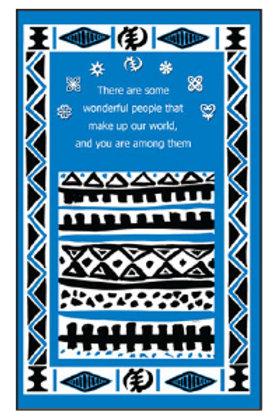 10 Cards - Wonderful People