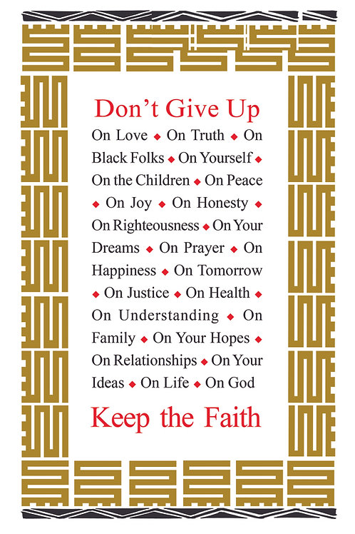 10 Cards - Dont Give Up