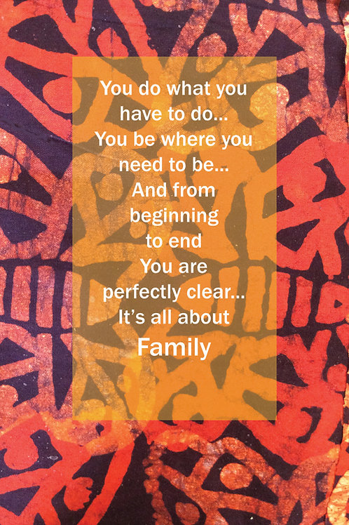 Orange Family First