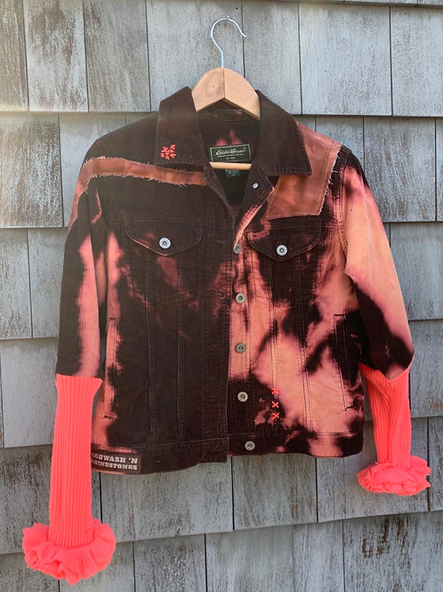 Fire Pink Puff Jacket