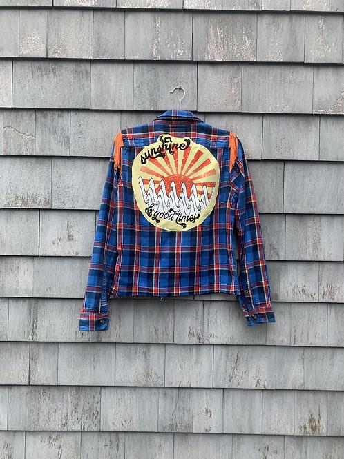 Sunshine & Good Times Flannel