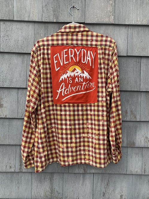 Everyday is An Adventure Flannel