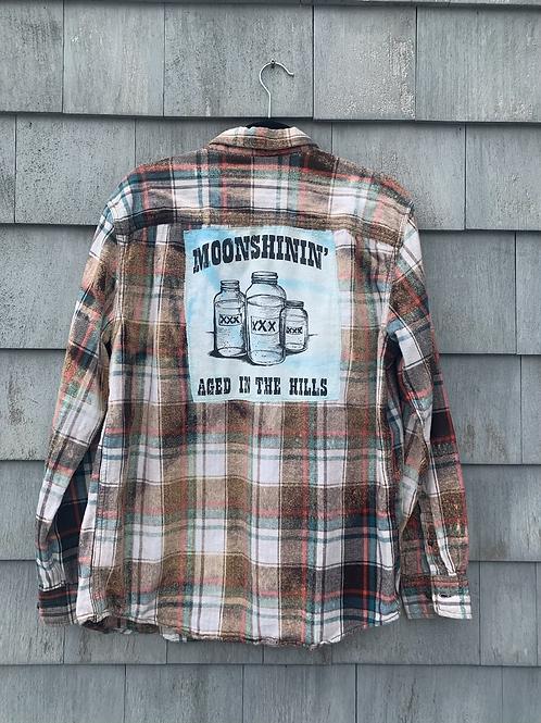 Moonshinin' Acid Wash Flannel