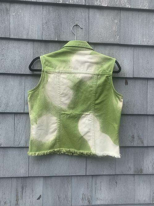Lime Green Levi's Vest